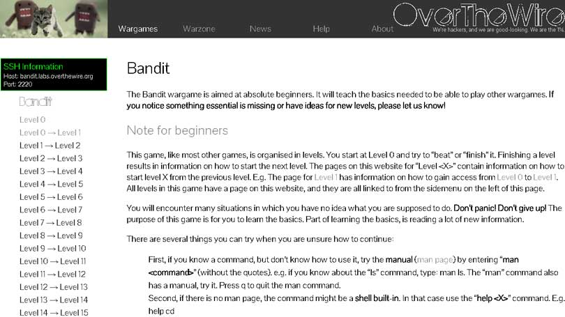 Bandit---Top-Hacking-Simulator-Games-Every-Aspiring-Hacker-Should-Play-Part-2