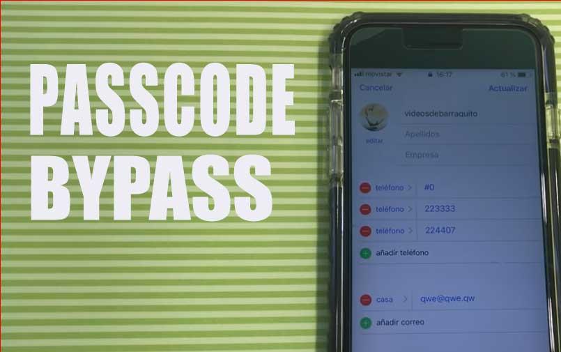 IOS 12 allows Passcode Bypass