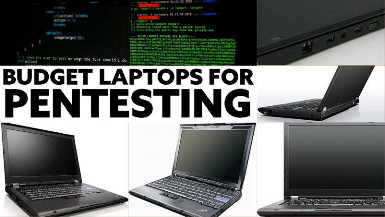 Budget Laptop for pentesting and ethical hacking activity