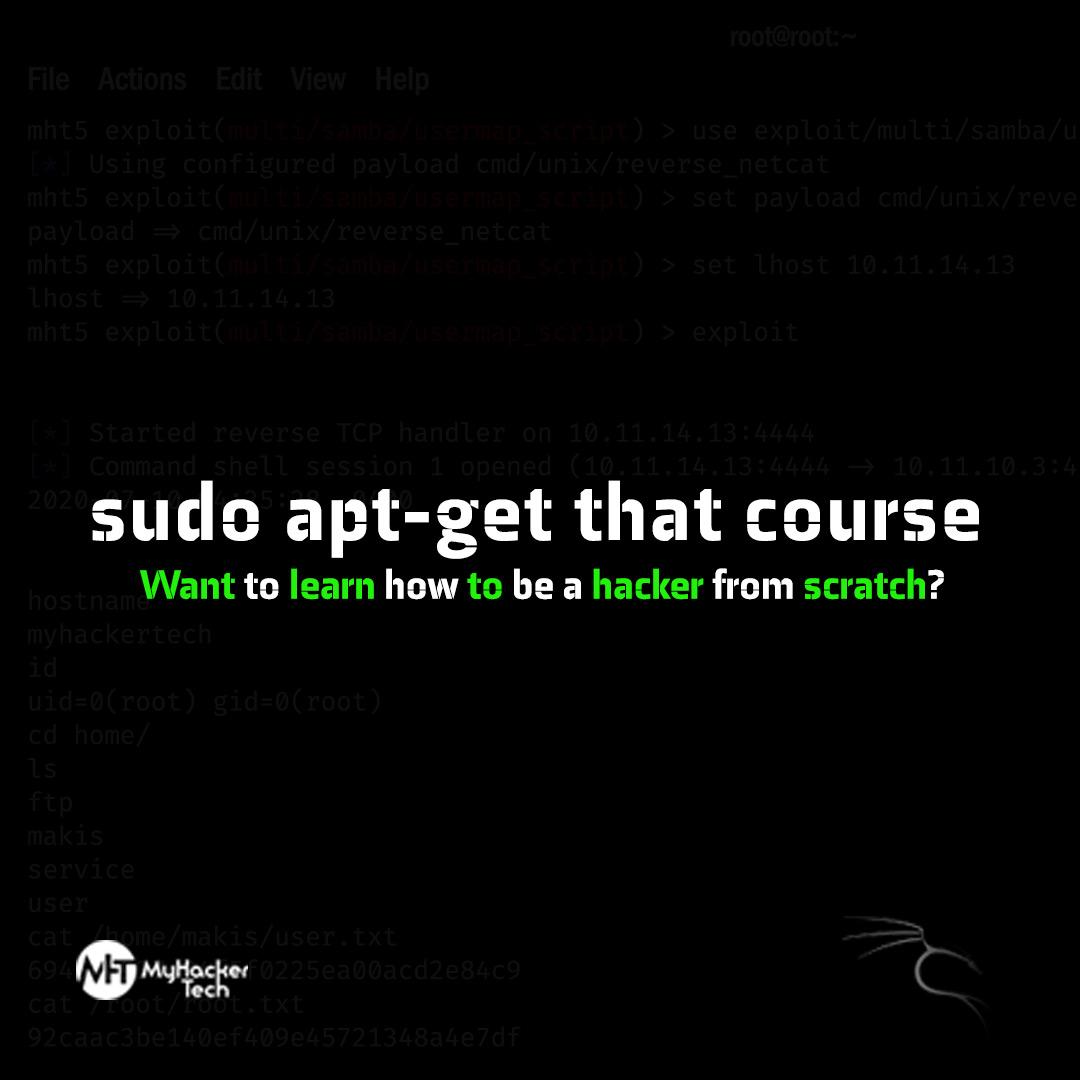 Sudo apt-get that course beginner-advance